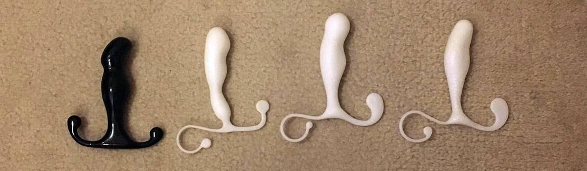 various aneros helyx sin prostate stimulators