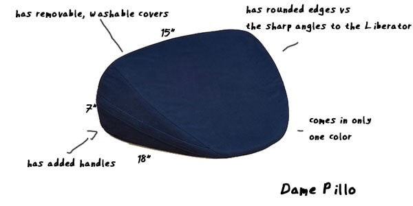 dame pillo sex pillow example