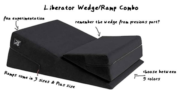 Wedge Liberator & Ramp Combo