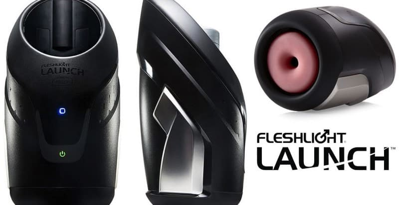 Blowjob machine: Fleshlight Launch