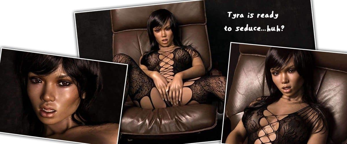 ebony black sex doll Tyra