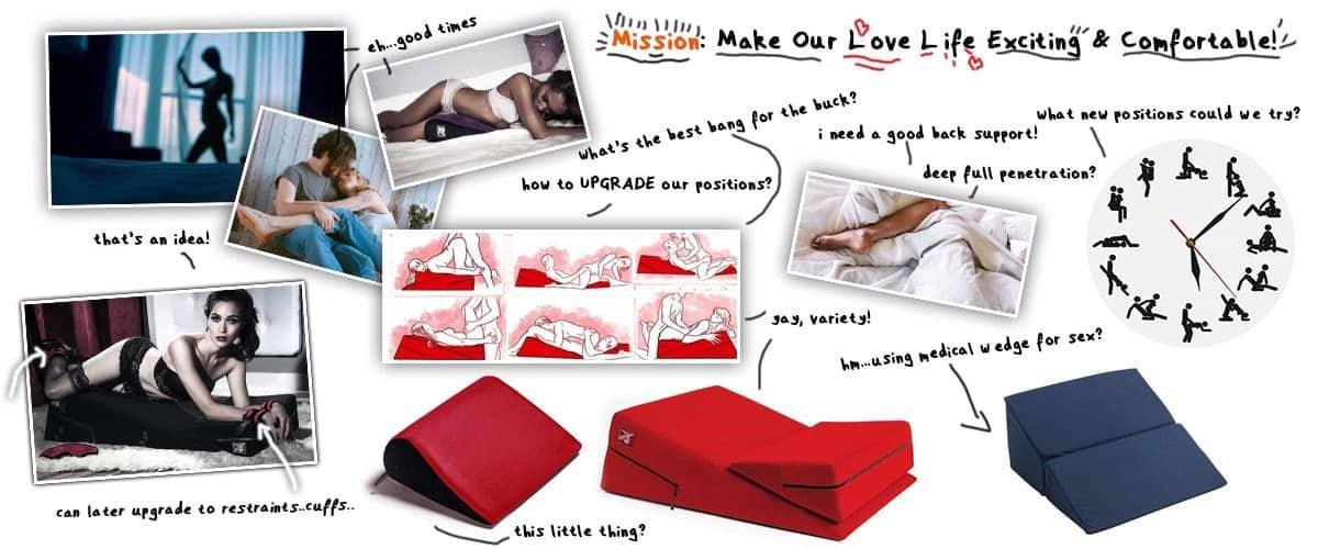 The Best Sex Wedge Pillows