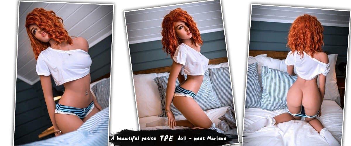 petite flat-chest sex doll Megan (TPE)