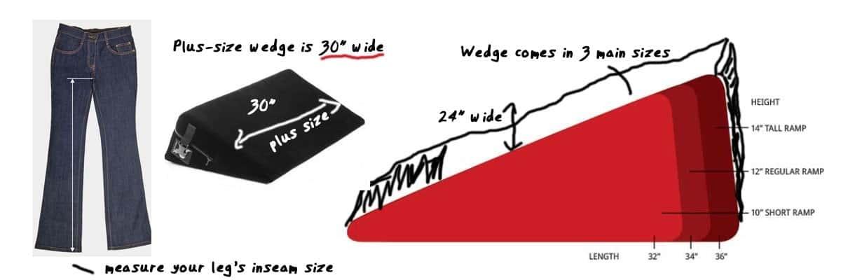 plus size liberator wedge
