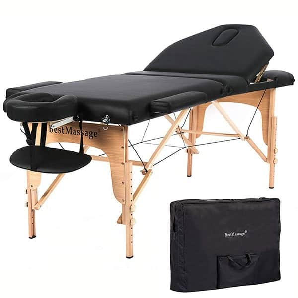 using massage table for sex