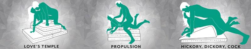Sex Positions on a Liberator Lift Booster Platform
