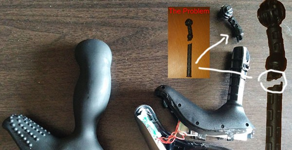 nexus revo vibrating prostate massager