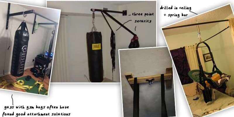 diy sex swing showing how to hang it