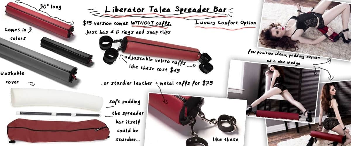 liberator tale spreader bar and positions