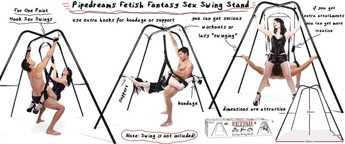 pipedreams fetish fantasy sex swing stand