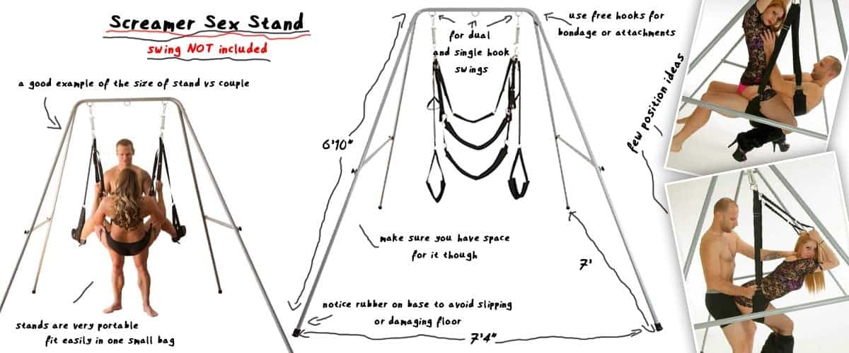 screamer sex swing stand and positions
