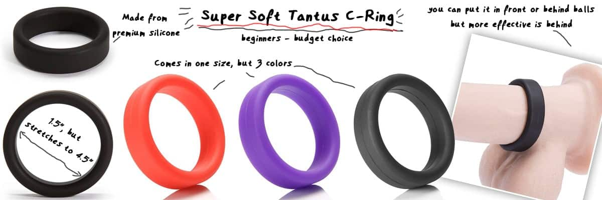 super soft silicone dick ring