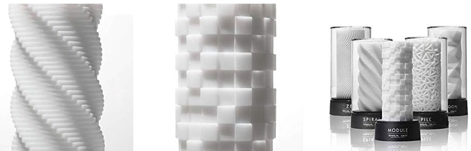 tenga 3d toy different textures
