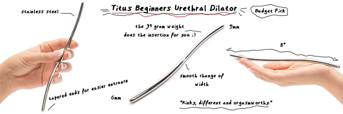 titus urethral sounding dilator sexually