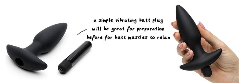 vibrating butt plug for pegging play
