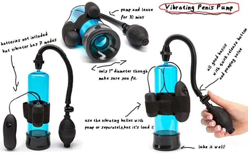 vibrating penis pump screenshot and results