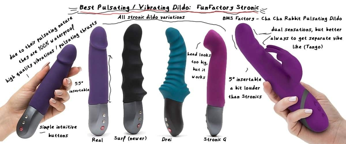 all best vibrating dildos compared