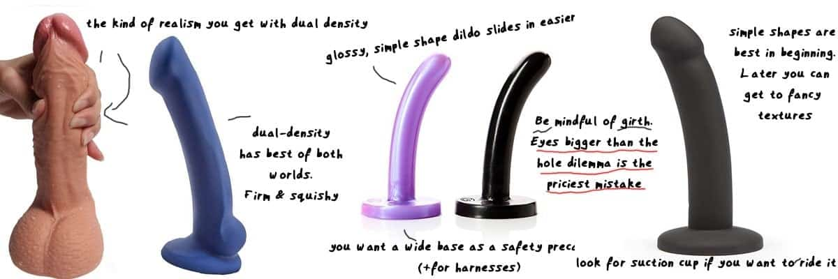 tips to recognise a good deep and long anal dildo