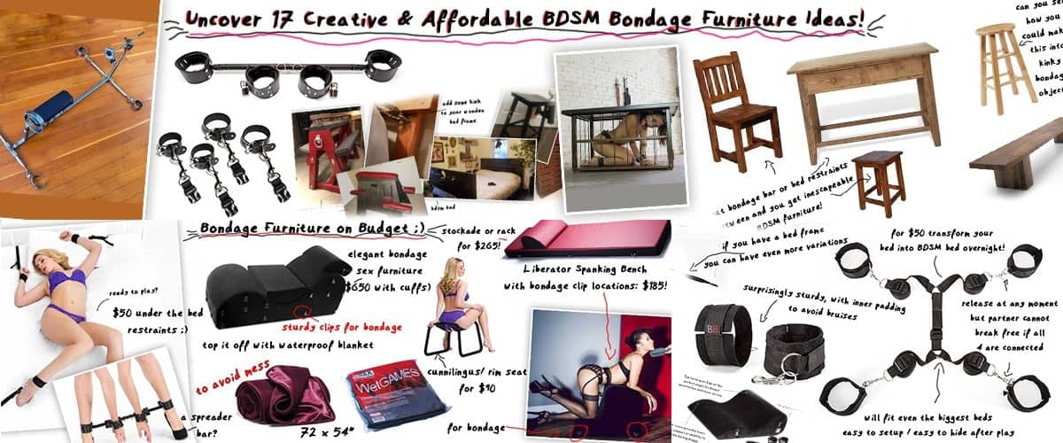 affordable discreet bdsm bundage furniture ideas