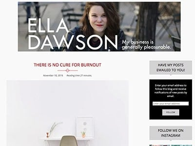 ella dawson sex blog