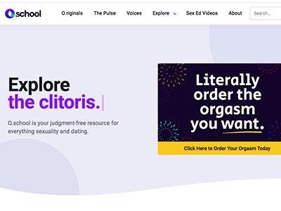 o school sex education blog