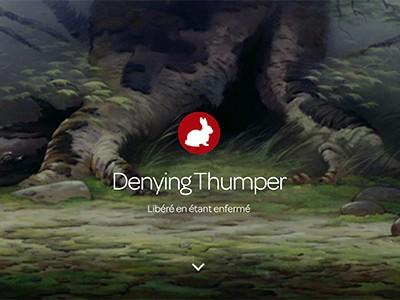 denying thumper