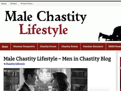 male chastity lifestyle