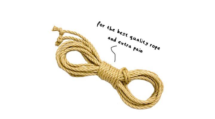 4.5mm Jute Rope
