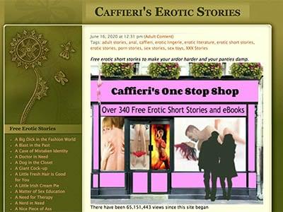 Caffieri's Erotic Stories