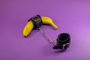 chained banana