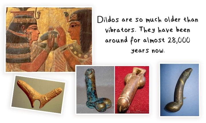 oldest dildos showcased