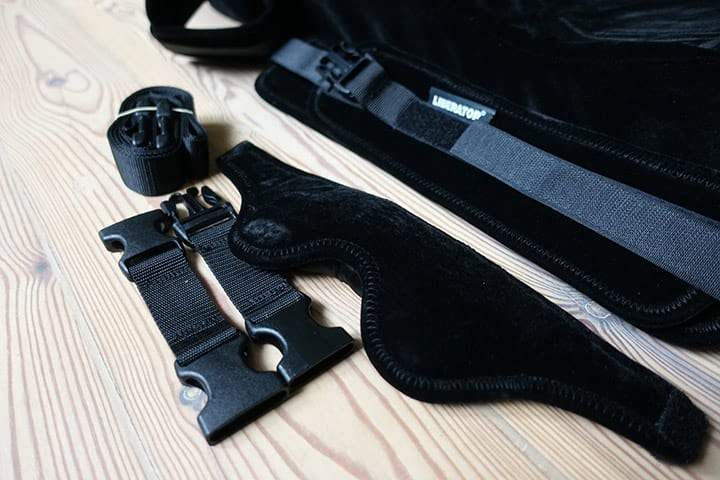 liberator extras restraints and eyepatch