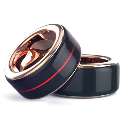 heartbeat ring by the touch